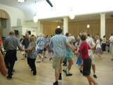 Picture of contra dancers